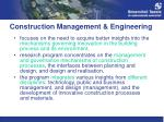 construction management engineering