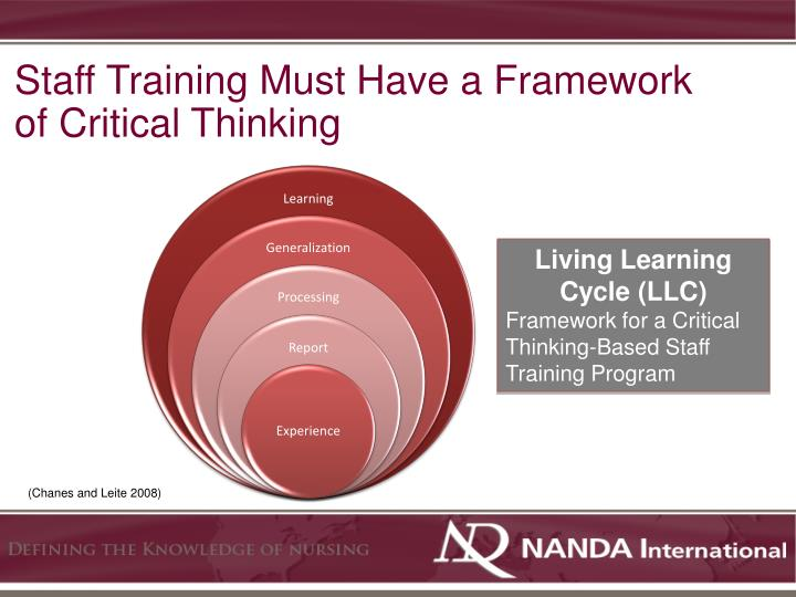 Staff Training Must Have a Framework