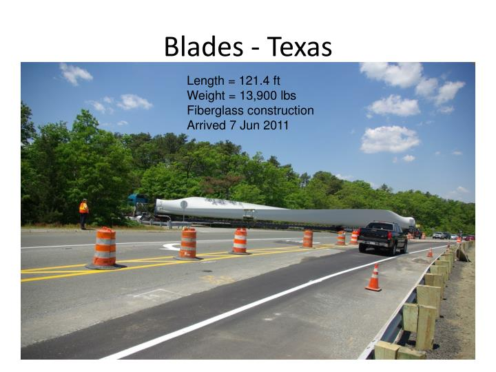 Blades - Texas