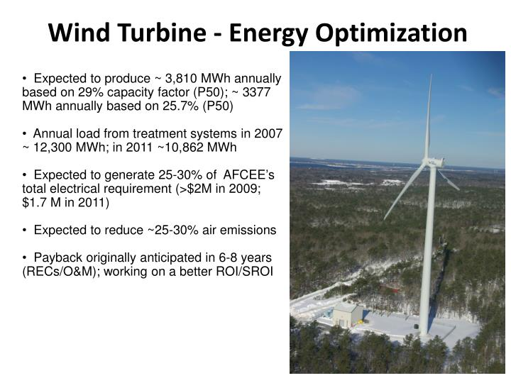 Wind Turbine - Energy Optimization