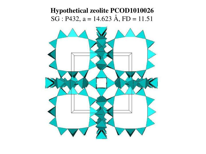 Hypothetical zeolite PCOD1010026