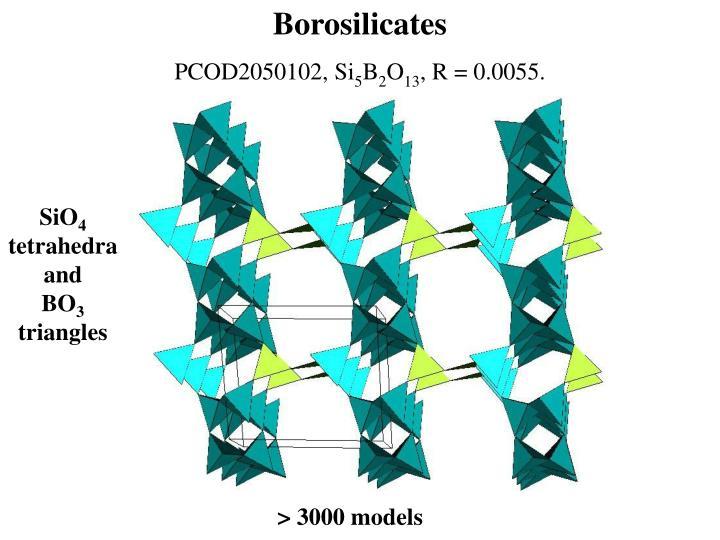 Borosilicates