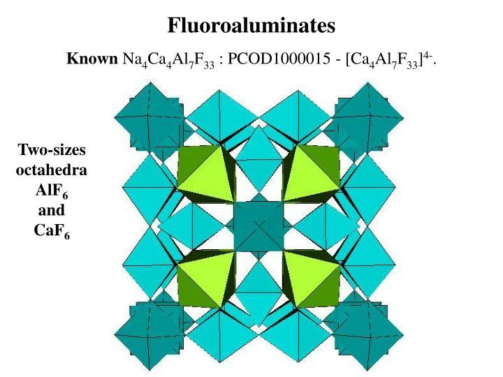 Fluoroaluminates