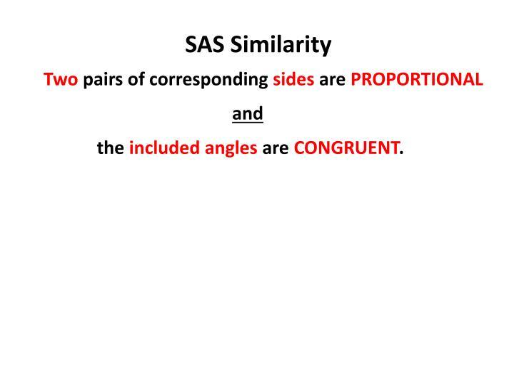 SAS Similarity