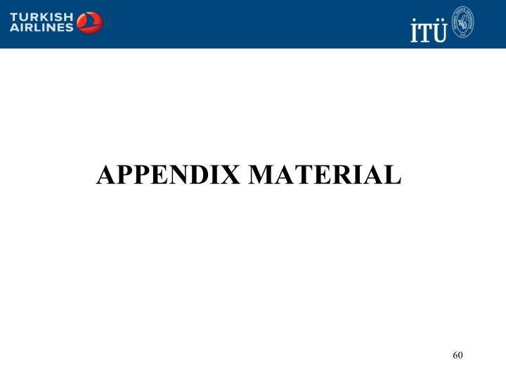 Appendix material
