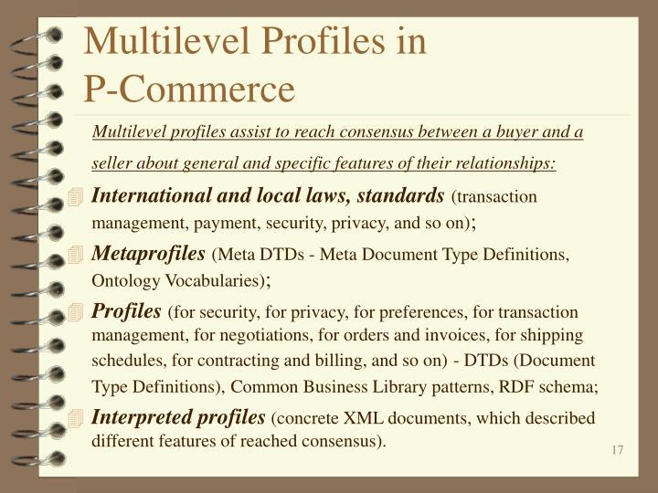 Multilevel Profiles in