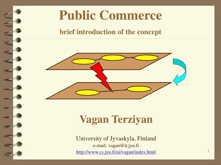 Public Commerce