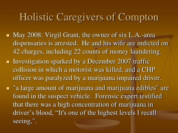 Holistic Caregivers of Compton