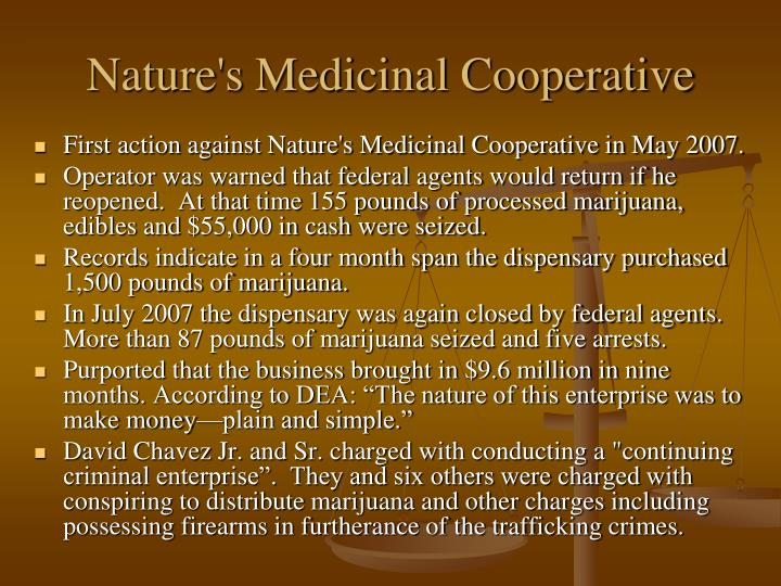 Nature's Medicinal Cooperative
