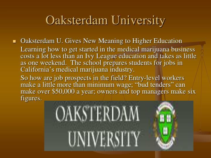 Oaksterdam University