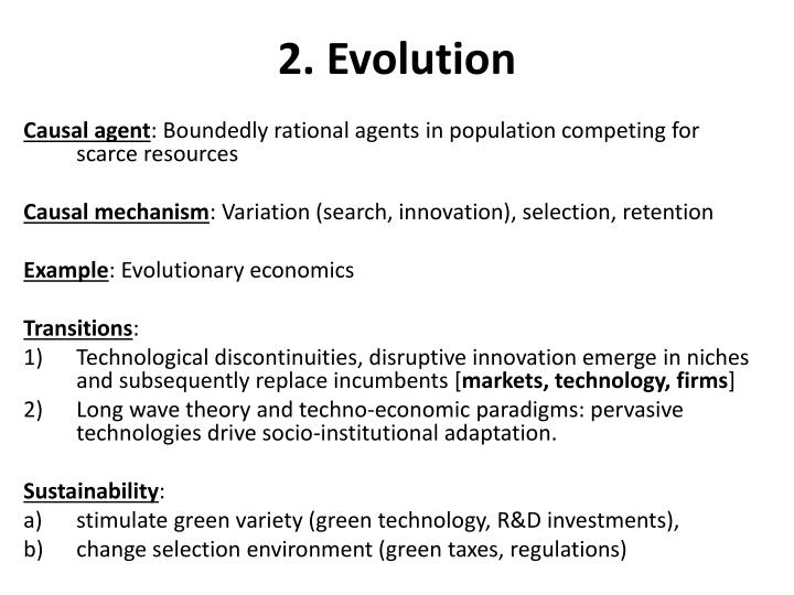 2. Evolution