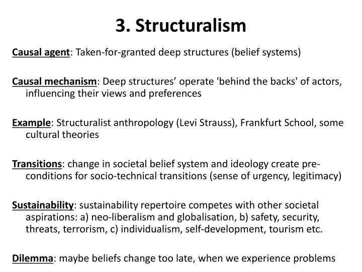 3. Structuralism