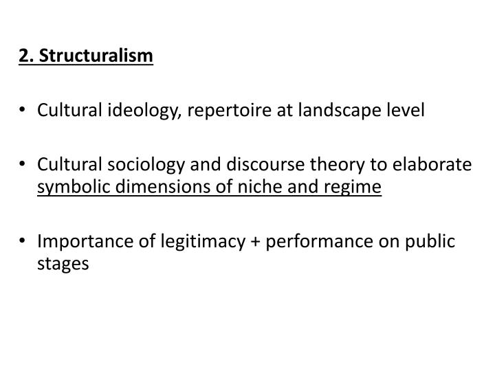 2. Structuralism