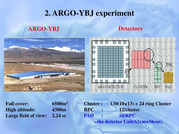 2. ARGO-YBJ experiment