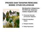proses dan tahapan rencana bisnis studi kelayakan