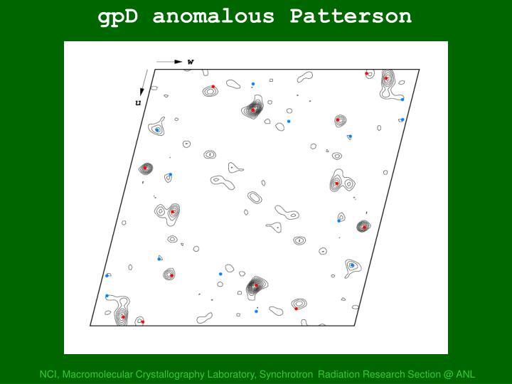 gpD anom Patterson 1