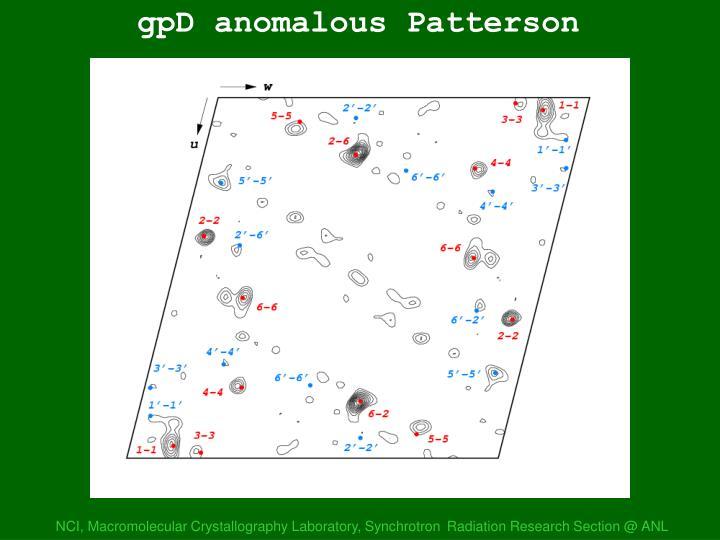 gpD anom Patterson 2