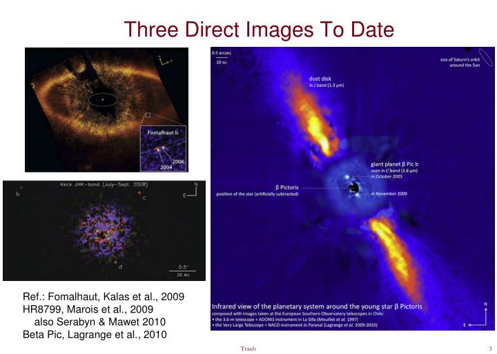 Three Direct Images To Date