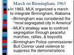 march on birmingham 1963
