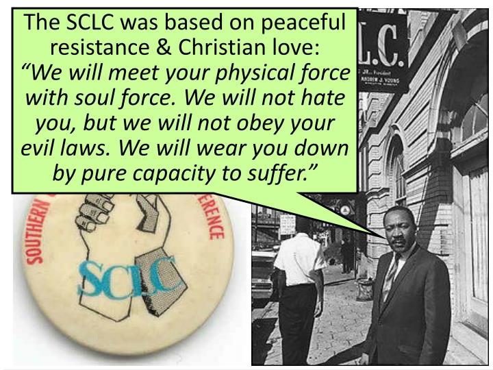 Martin Luther King & the SCLC
