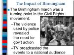 the impact of birmingham