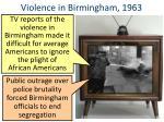 violence in birmingham 19631