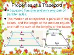 properties of a trapezoid