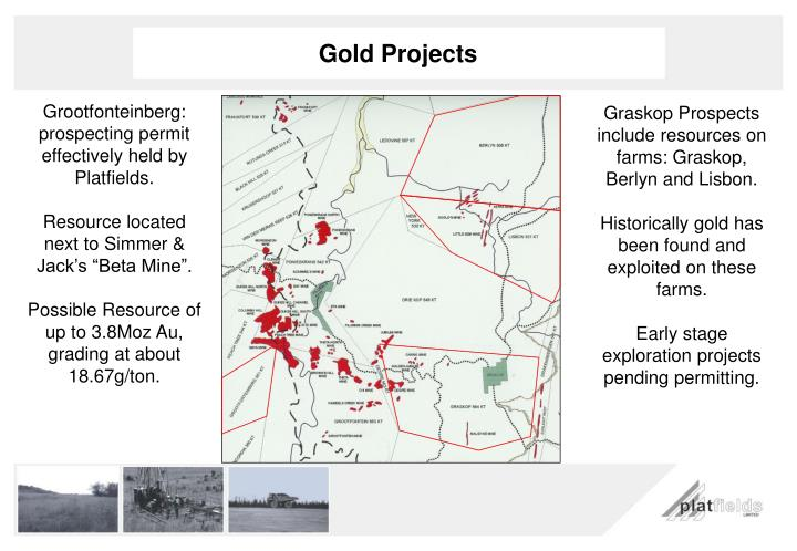 Gold Projects