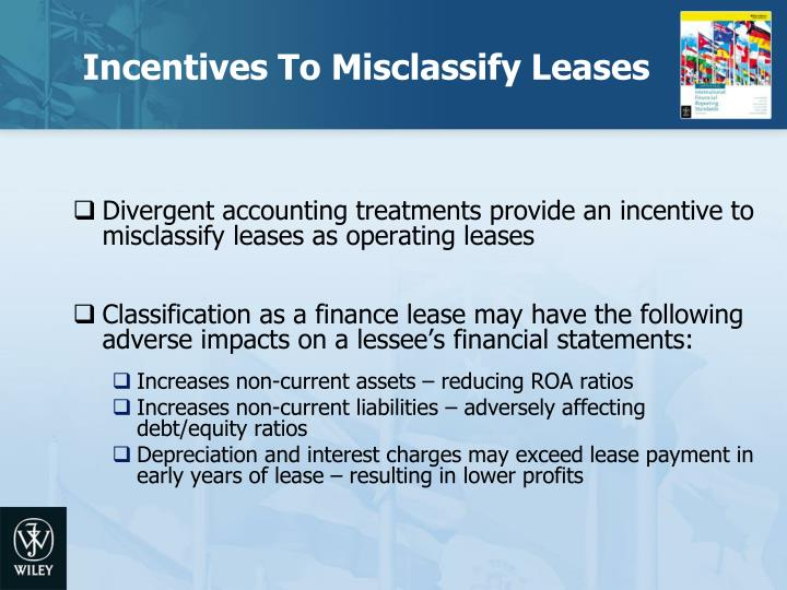 Incentives To Misclassify Leases