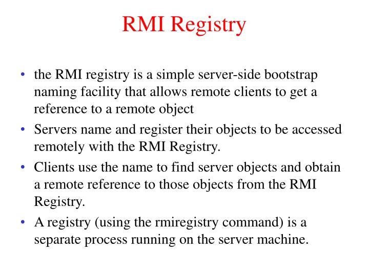 RMI Registry