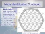 node identification continued2