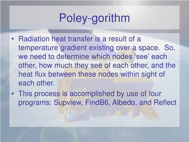 Poley-gorithm