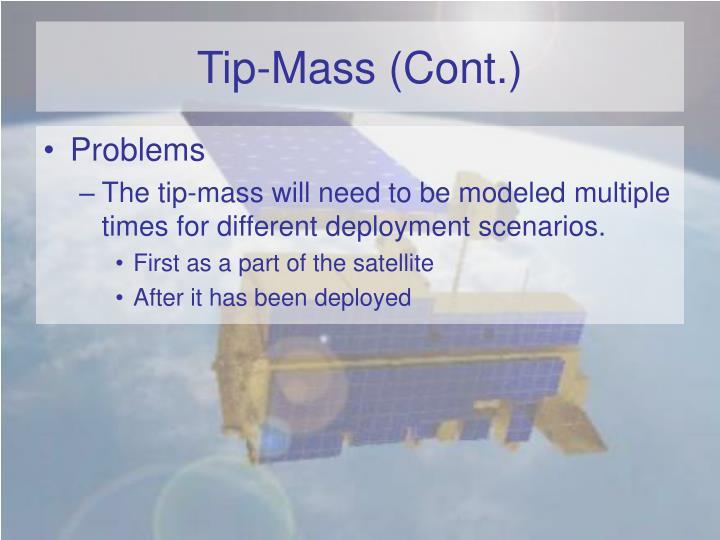 Tip-Mass (Cont.)