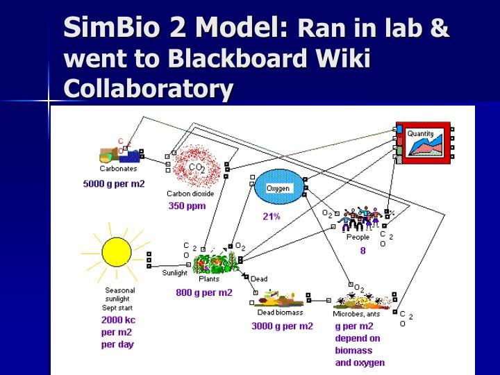 SimBio 2 Model: