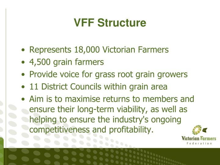 VFF Structure