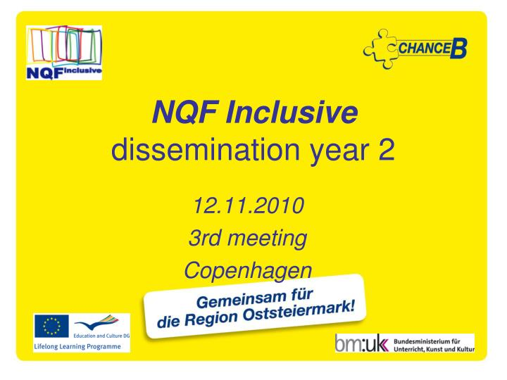 nqf inclusive dissemination year 2