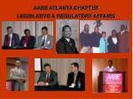 aabe atlanta chapter legislative regulatory affairs