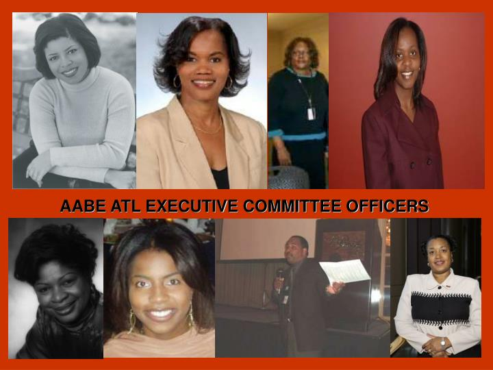 AABE ATL EXECUTIVE COMMITTEE OFFICERS