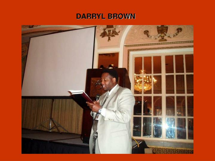 DARRYL BROWN