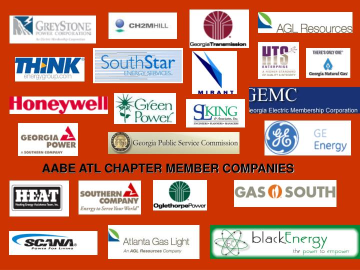 AABE ATL CHAPTER MEMBER COMPANIES