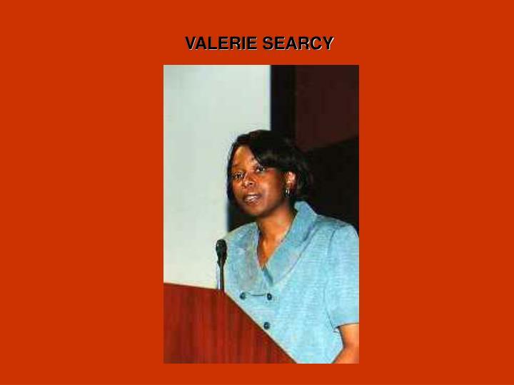 VALERIE SEARCY