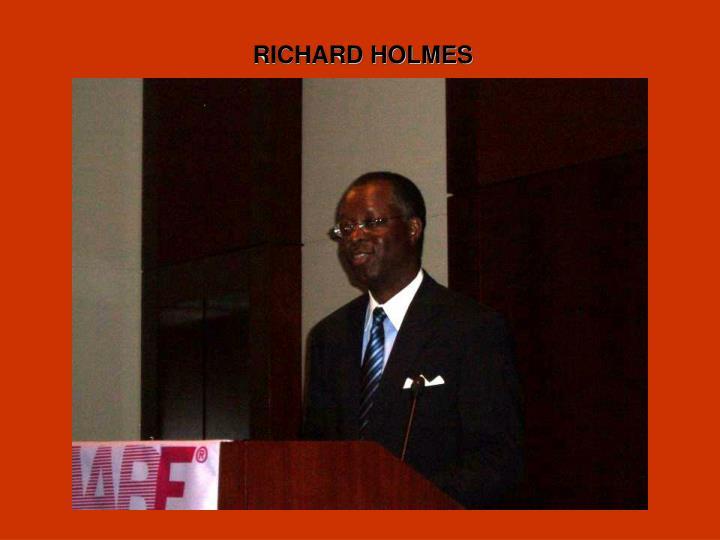 RICHARD HOLMES