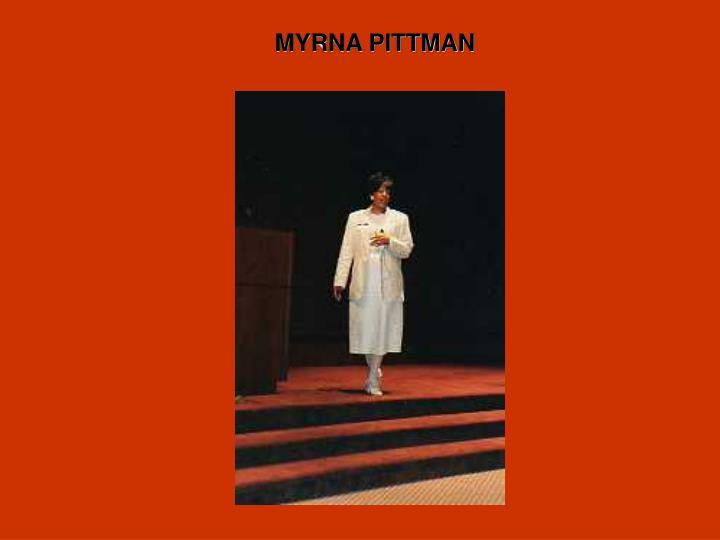 MYRNA PITTMAN