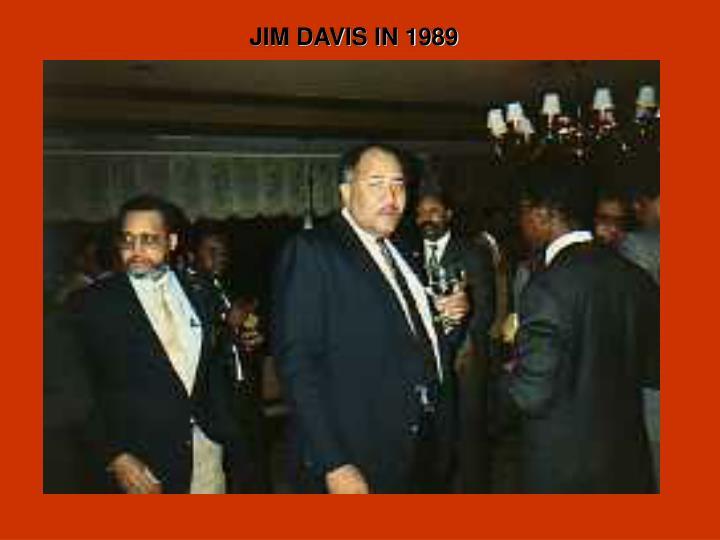 JIM DAVIS IN 1989