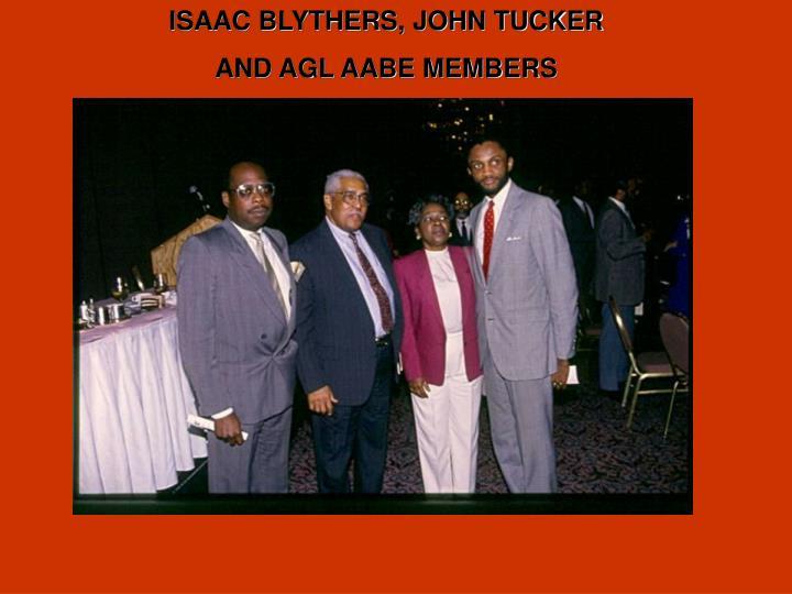 ISAAC BLYTHERS, JOHN TUCKER