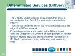 differentiated services diffserv