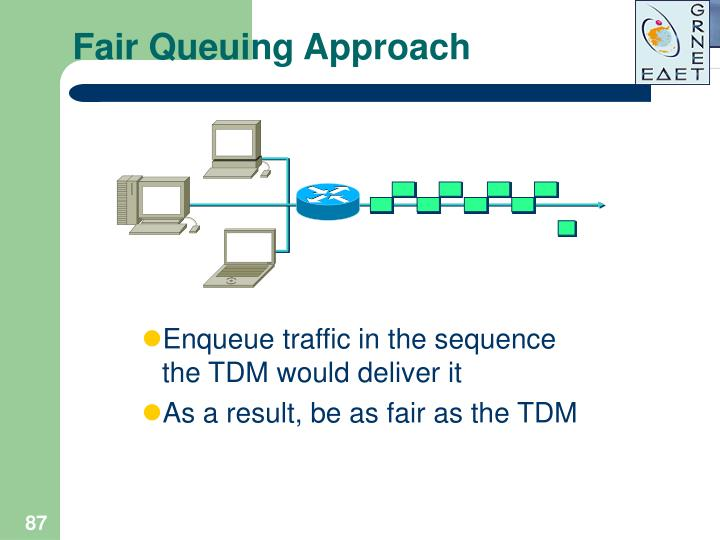 Fair Queuing Approach