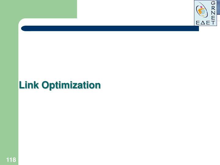 Link Optimization
