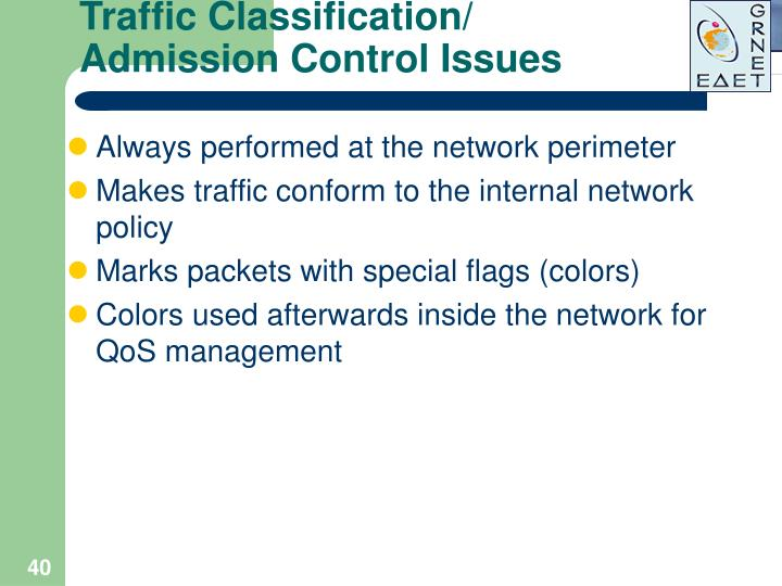 Traffic Classification/
