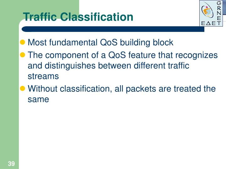 Traffic Classification